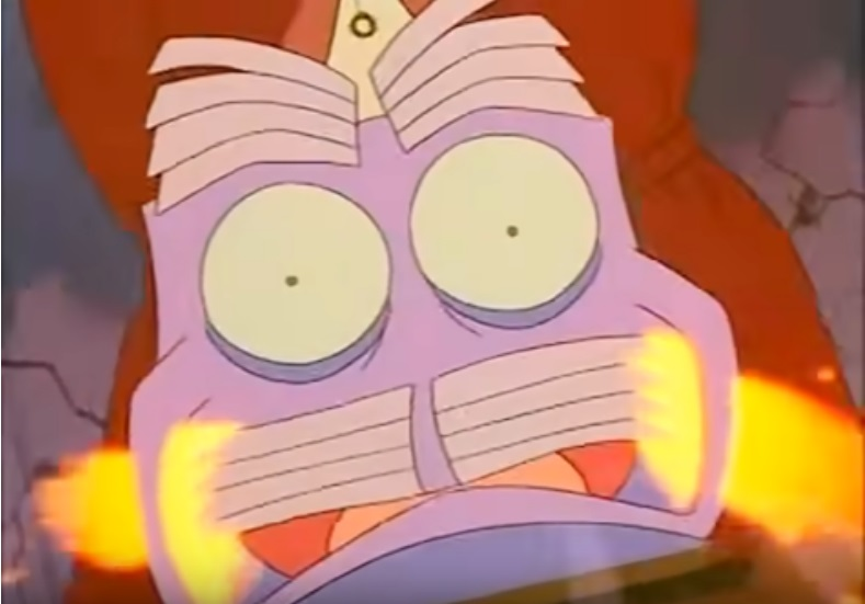 Air conditioner about to blow from The Brave Little Toaster