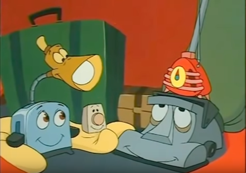 The gang in the back of the Master's car